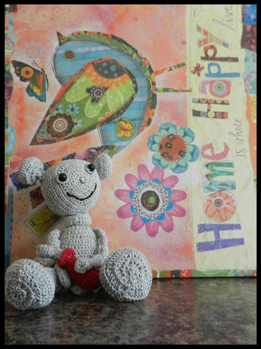 Thumbbot Crocheted by karyaazure