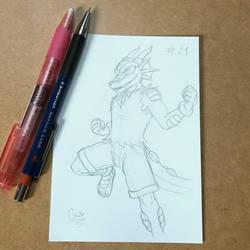 #Sketchtember 21 by Gata-flecha