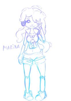 Marina - Splatoon 2 doodle