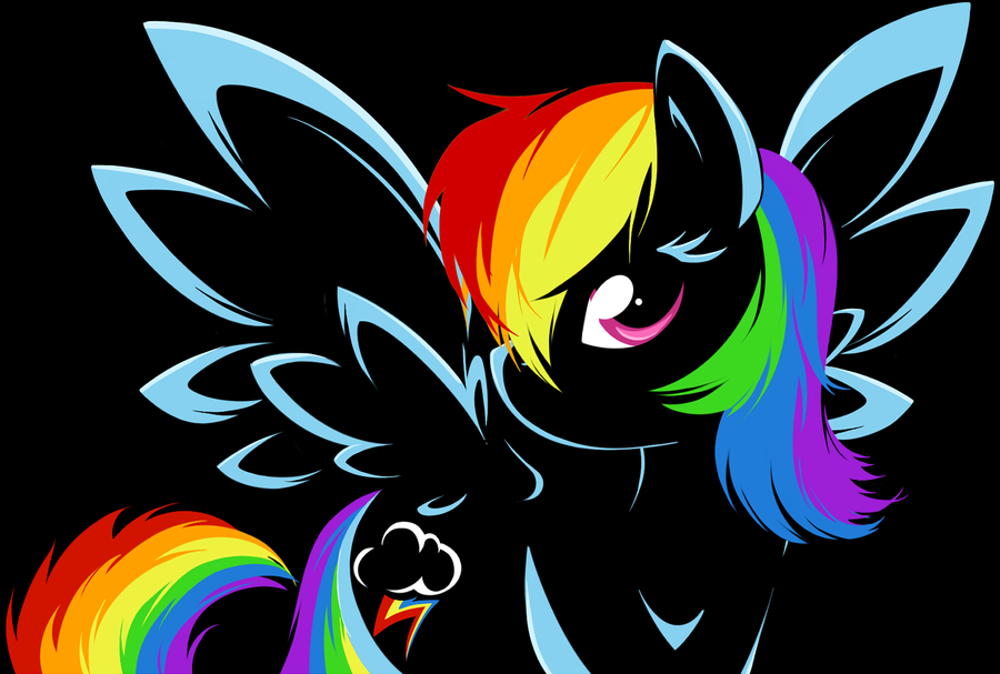 Dash Of Rainbow by BambooDog