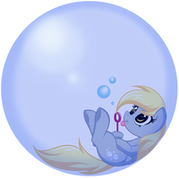 Derp Bubble by BambooDog