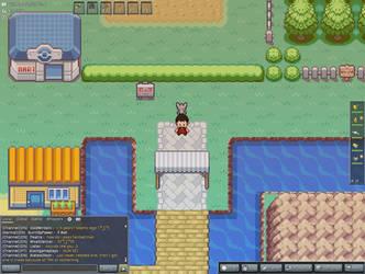 My PokeMMO Character And Pokemon by BrandonMurphyWSG21