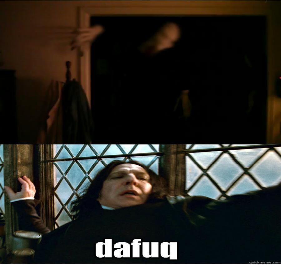 Gallery For > Dafuq Meme Snape