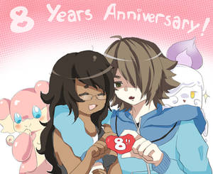 8 Years! Awoo~