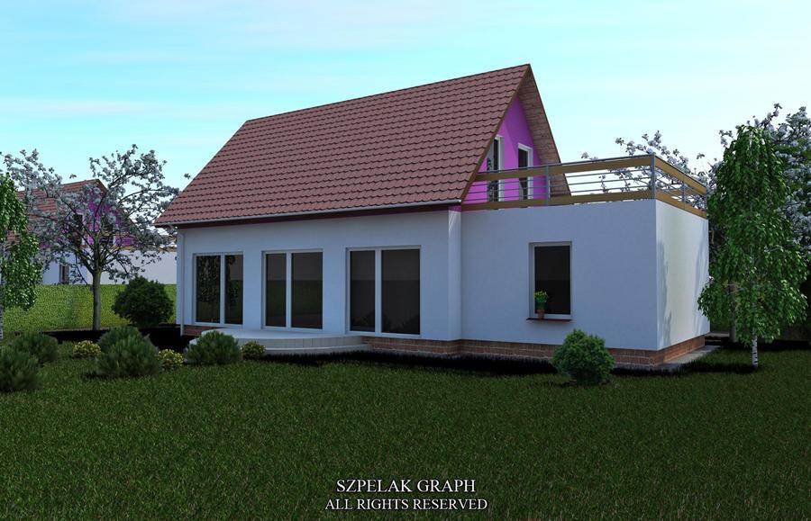 Simple House Visualization By Szepelak On DeviantArt