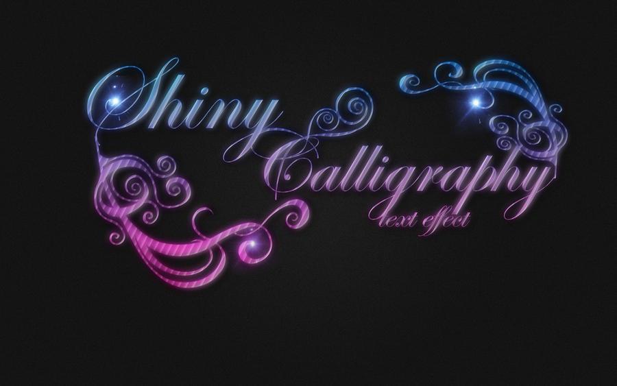 Shiny calligraphy tutorial by voiceofangels on deviantart