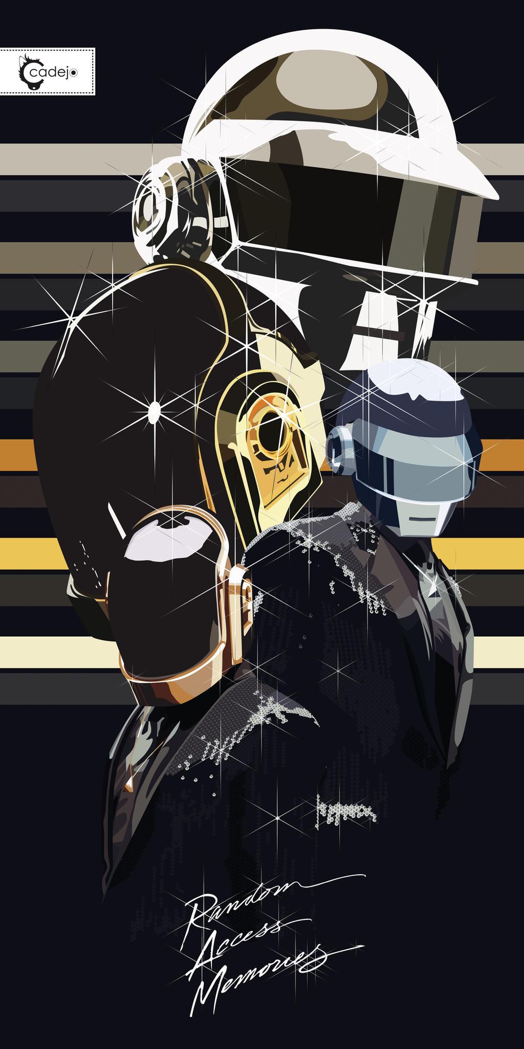 Daft Punk RAM by elcadejoblanco on DeviantArt