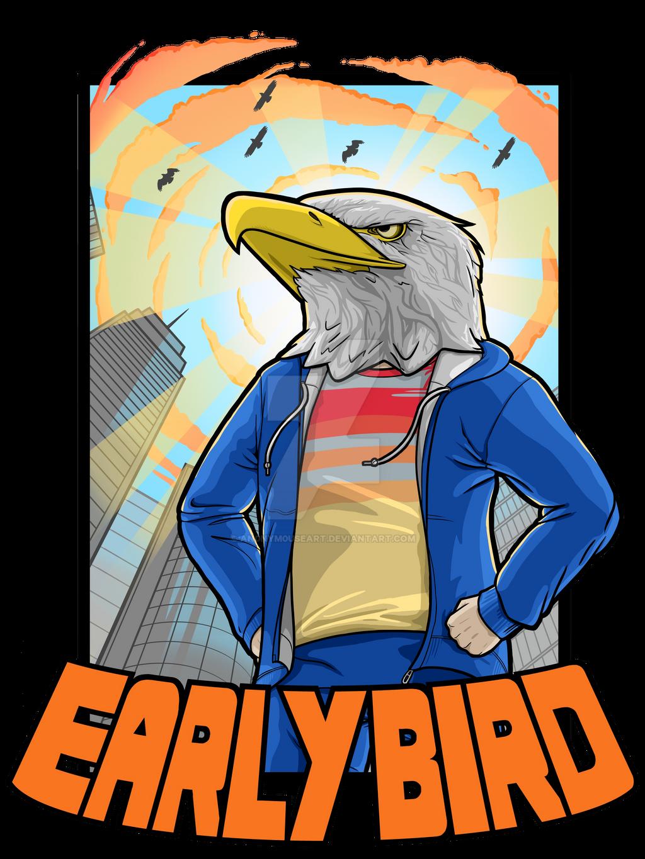 Early Bird T-Shirt Design by An0nym0useArt on DeviantArt