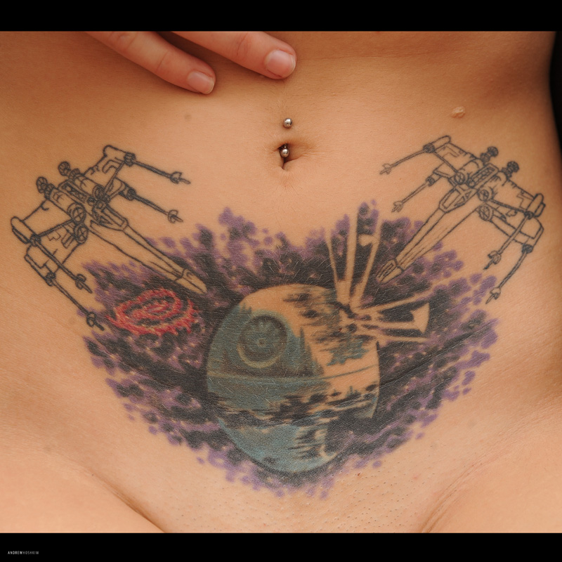 Death Star Tattoo by hoshq