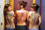 Tattooed French Sisters