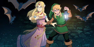 Escape From Hyrule Castle (A Link to the Past)