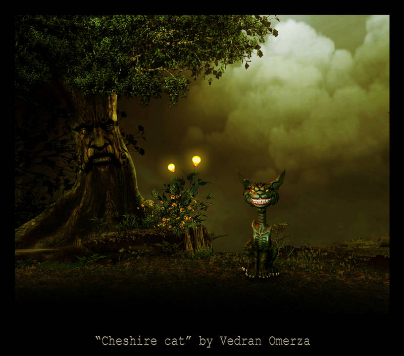 Cheshire cat by ShangyneX