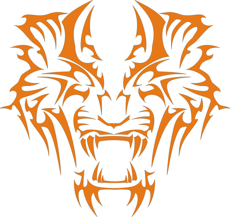 Tiger vector logo by ShangyneX on DeviantArt