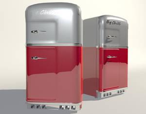 Retro fridge-Big Chill