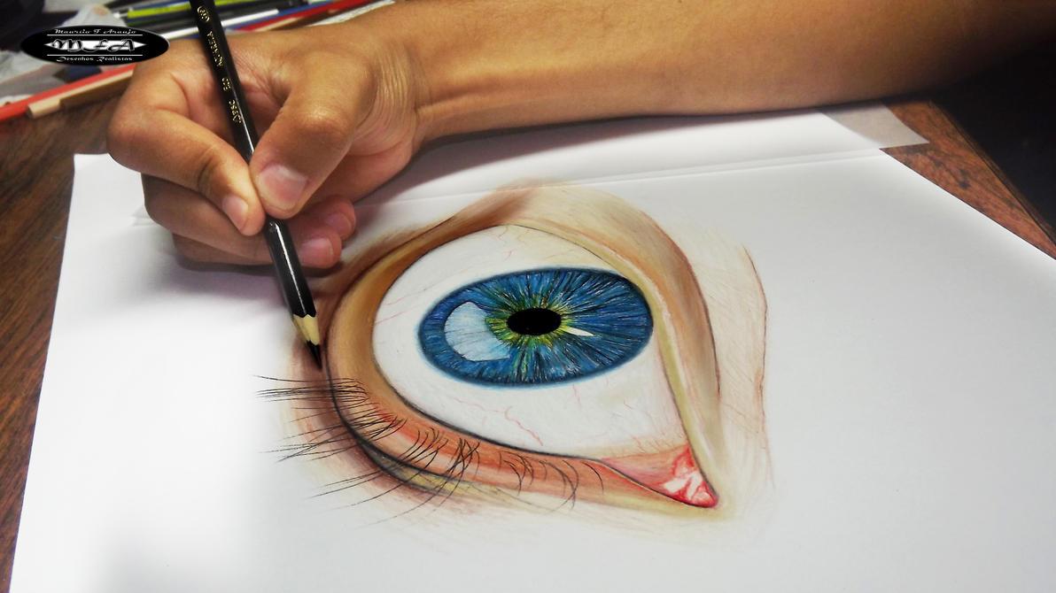 Desenhos Realistas a Lapis de cor by mauriciofortunato