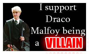 Villain Draco Malfoy stamp by KindGenius