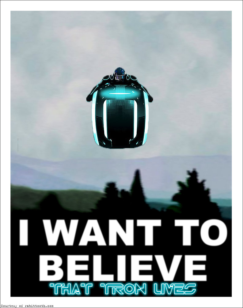 Tron Uprising: I want to believe by KindGenius