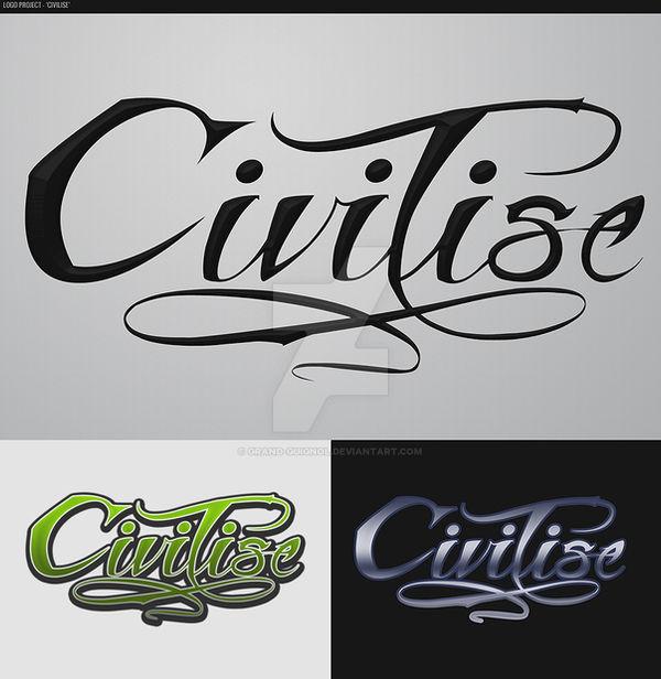 Logo Project Draft - 'Civilise'