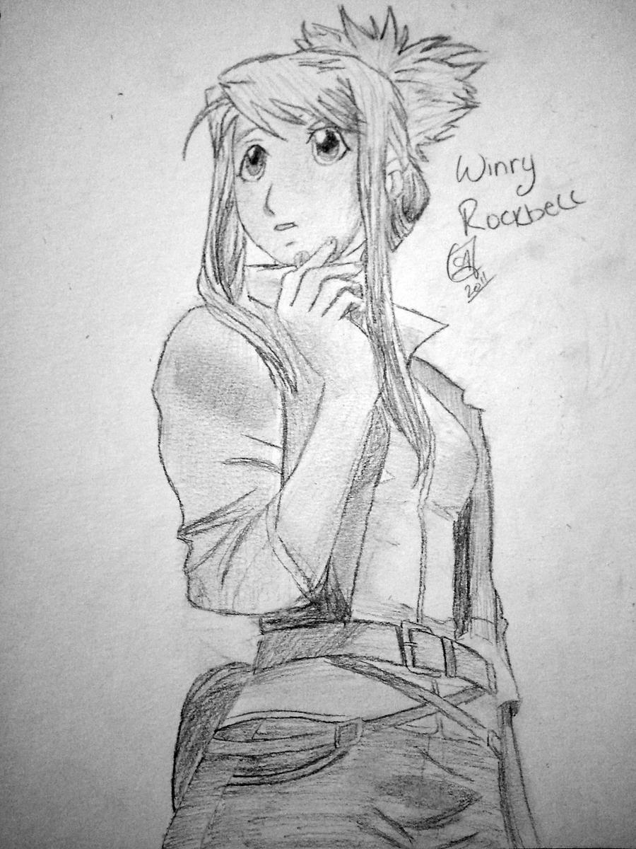 Winry Rockbell by Slayer-Sango