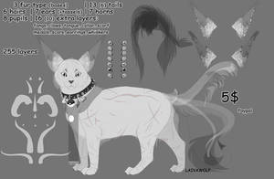 Line art| P2U cat by LaivaWolf