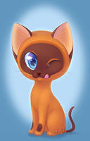 Fanart| Gav the Kitten by LaivaWolf