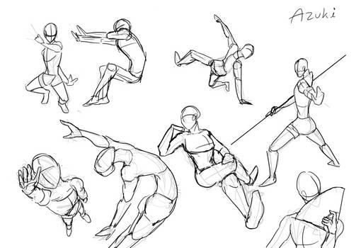 Poses Practice