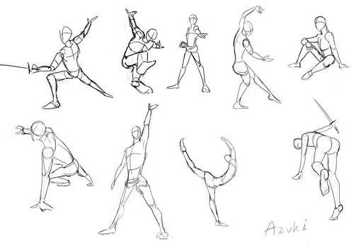 Poses Practice - 2