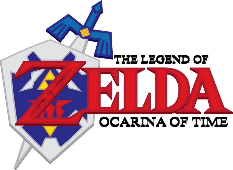 ocarina of time logosunsetrpg on deviantart