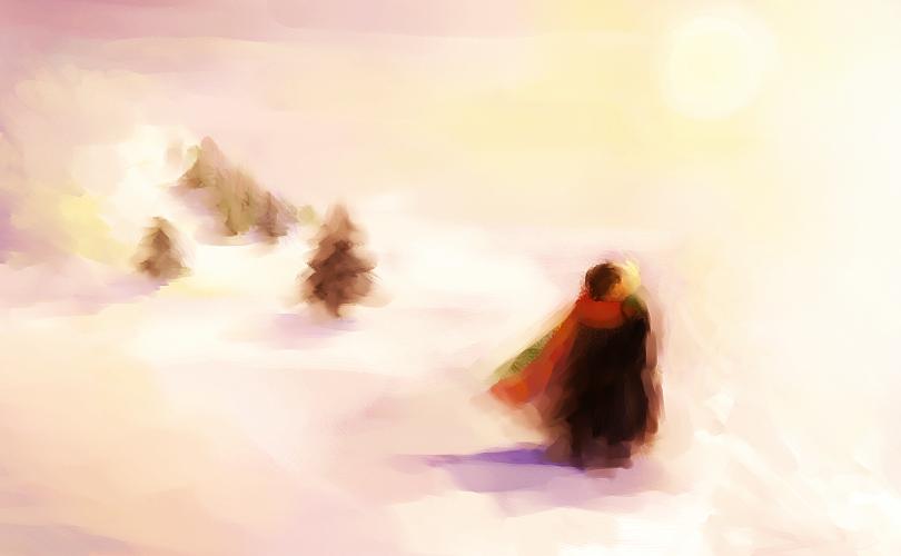 Snow Kiss by trowicia