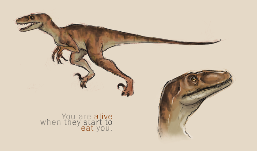 Velociraptor by trowicia