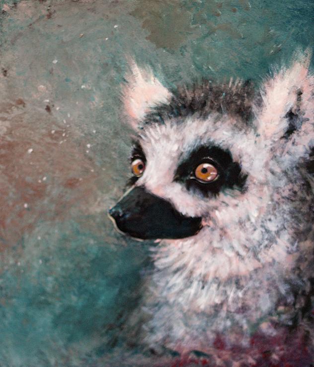 Lemur Acrylics by trowicia