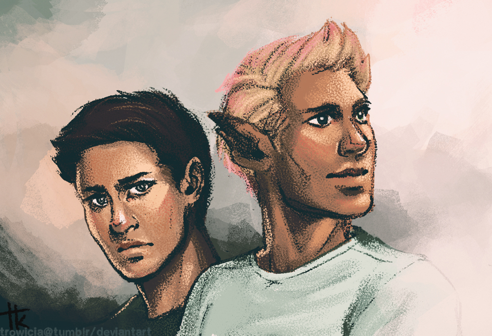 Micah and Adam by trowicia