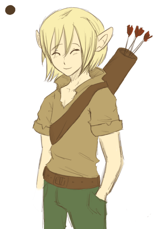 Elf Boy by teramiku
