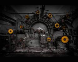 Mechanical juggler by AbandonedZone