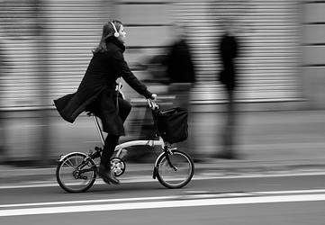 Cyclist by AbandonedZone