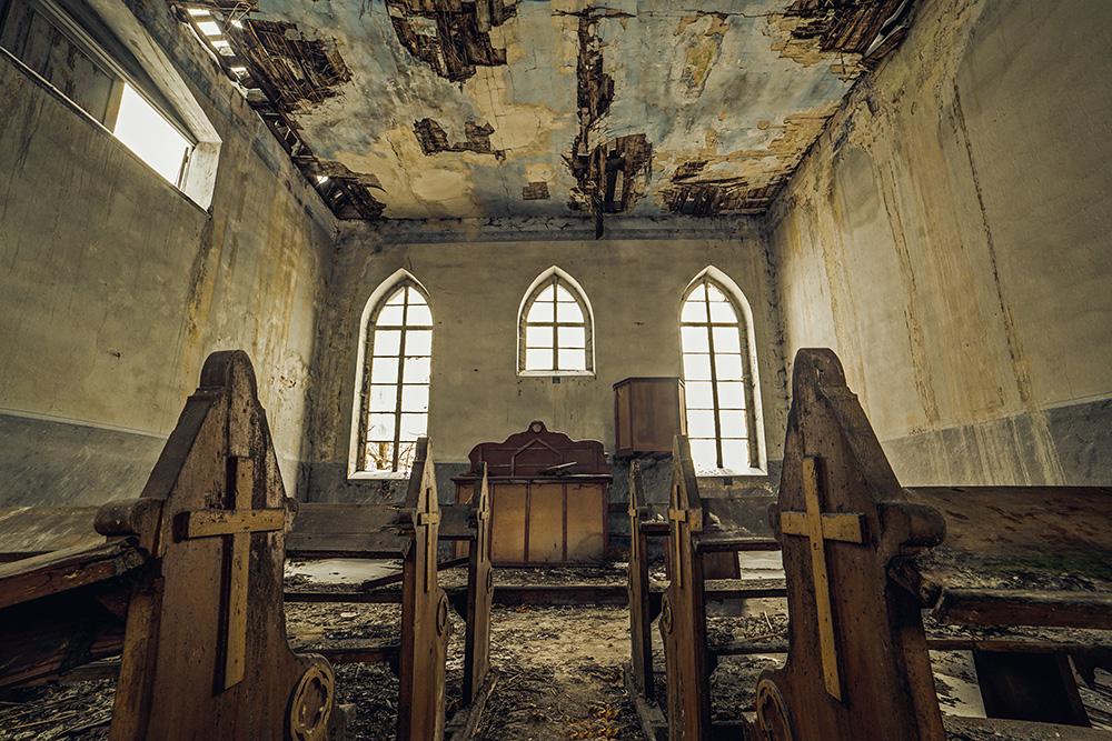 Deserted Sanctuary VI by AbandonedZone