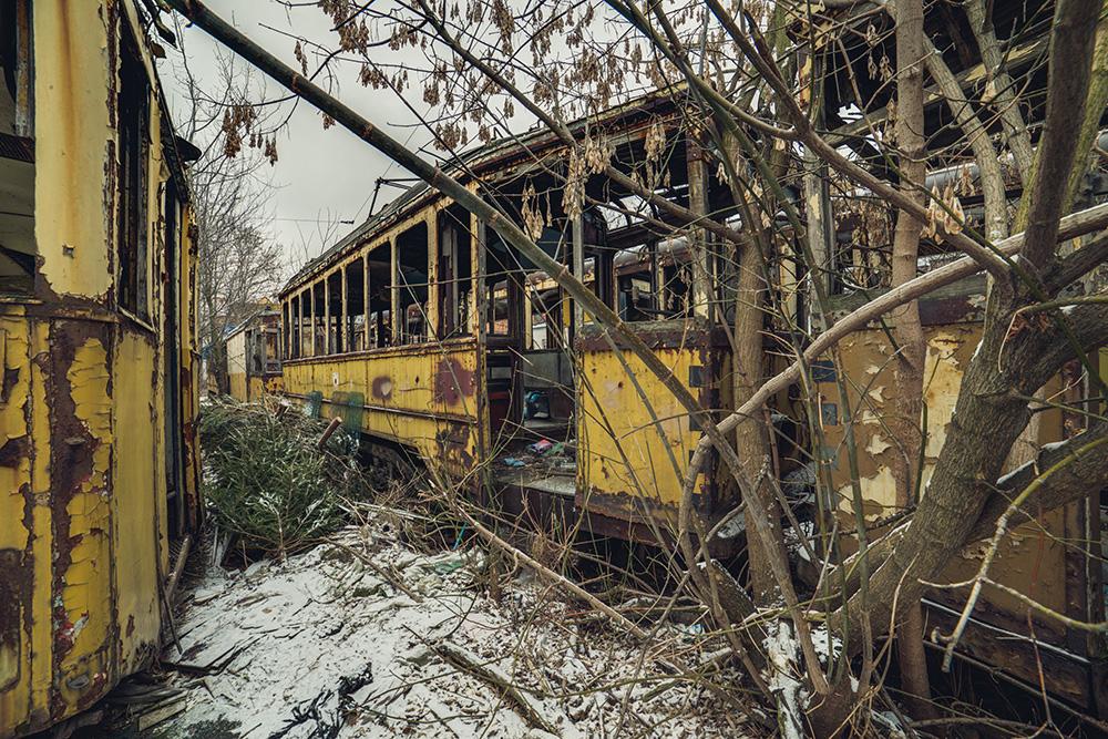 Tram no.9 II by AbandonedZone