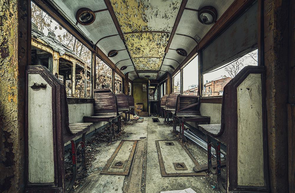 Tram no. 9  III by AbandonedZone