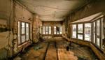 Abandoned Railway Control Room