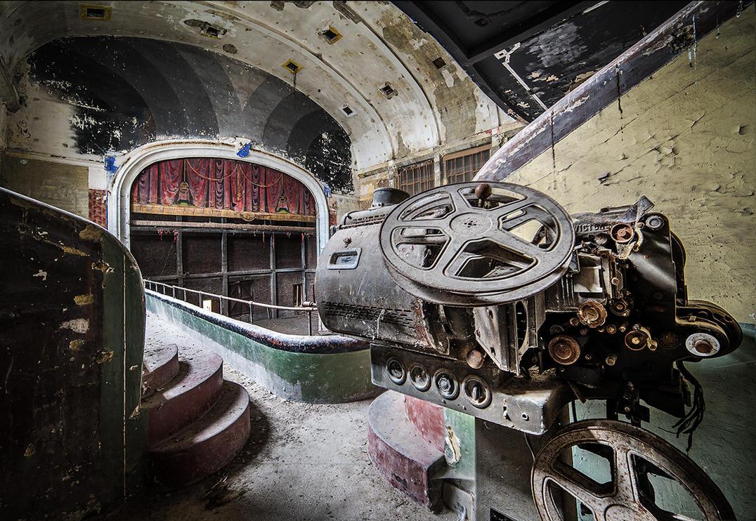 The Old Cinema by AbandonedZone