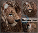 Brown Lion Mask