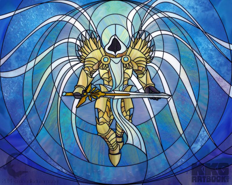 Archangel of Justice by crocodiledreams