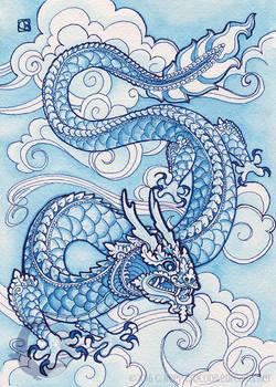 Porcelain Blue