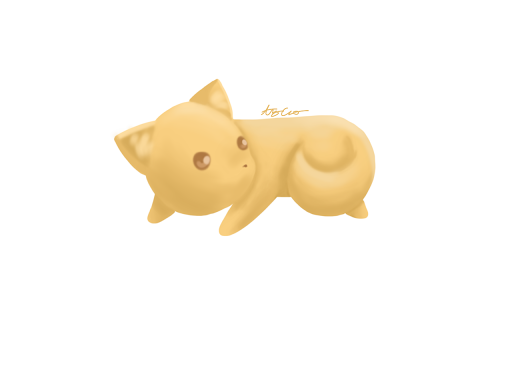 Chibi Cat by amyc124