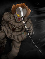 Pennywise by ButeonineOwl