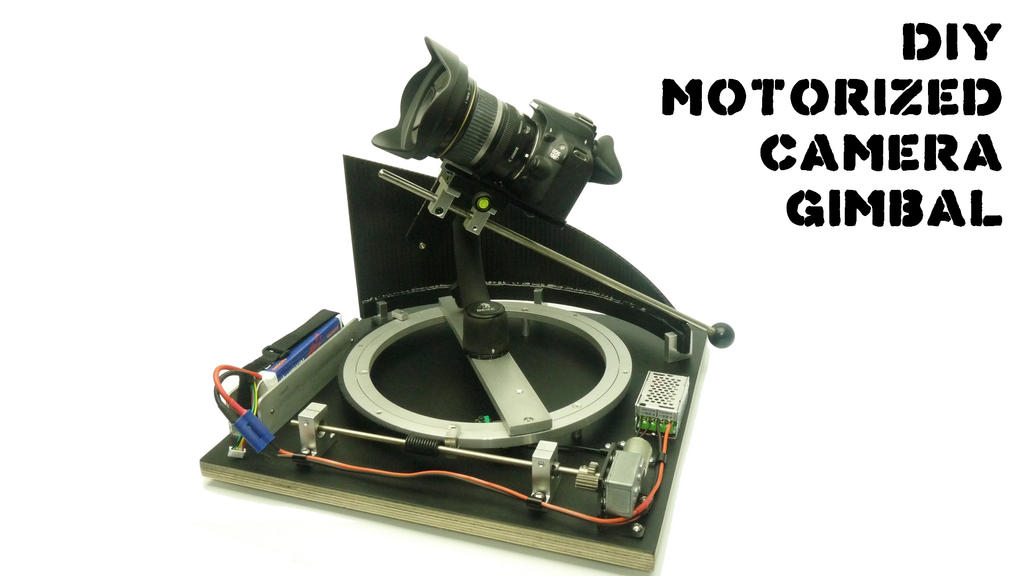 DIY MOTORIZED CAMERA GIMBAL by SuicideNeil