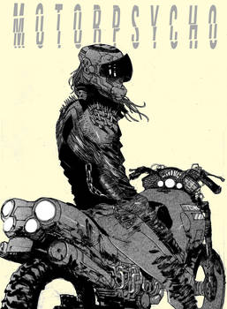 POST-APOCALYPTIC BIKERS with Giannis