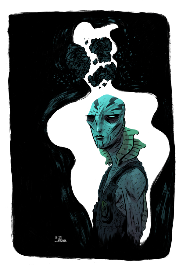 EVOLUTION OF ABE SAPIEN with Logan by BrandNewNostalgia