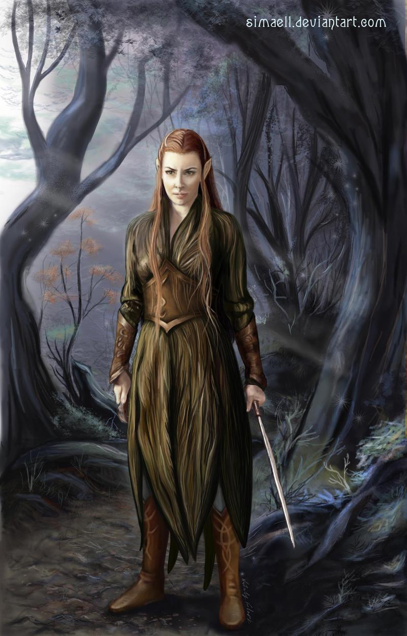 Tauriel, a Silvan Elf