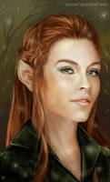 Tauriel by Simaell
